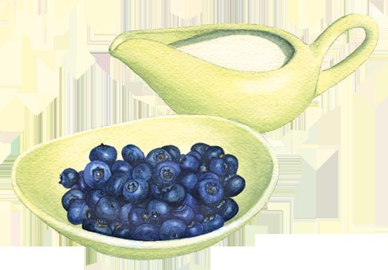 Blueberries-+-cream