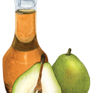 D'Anjou pear vinegar