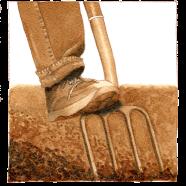 work series 2 – digging fork