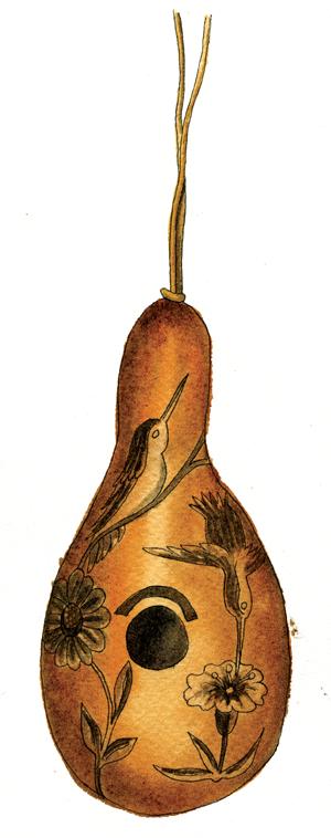 gourd-birdhouse