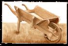 work series 1 – wheelbarrow
