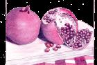 pomegranate in juice