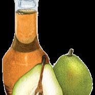 D'Anjou pear vinegar